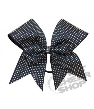 Large cheer bow with dense Rhinestones