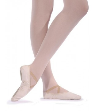 Taneční piškoty látkové strečové, tělové růžové