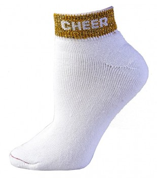 Socks with CHEER lining