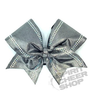 Large cheer bow with Rhinestones on the sides