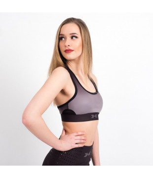 Sports Bra Black Ombré