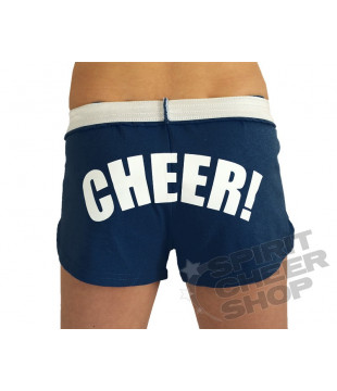 Cheer šortky dámské s potiskem CHEER tmavě modré