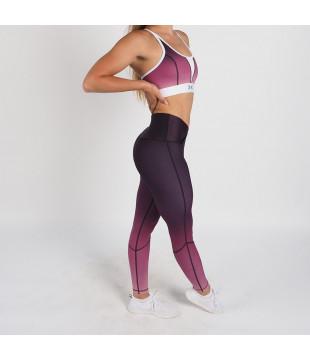 Sportovní legíny Flex Waist Purple Blush