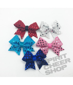 Mini Cheer Shoe Bow