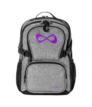 Nfinity Petit Sparkle Backpack Silver
