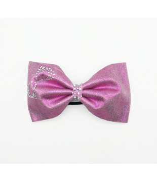 Nfinity Hair Bow Tie Pink