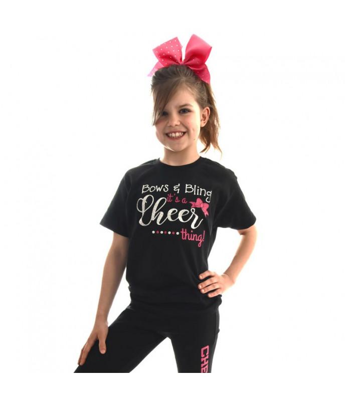 Kids T-shirt Bows&Bling