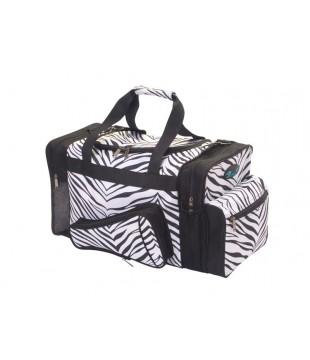 Sportovní taška zebra