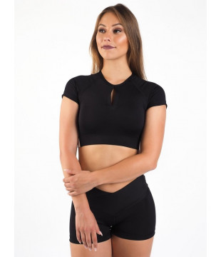 Crop Top Short Mystical Moon