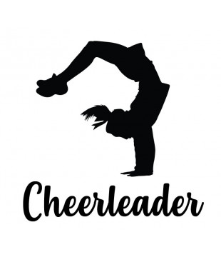 Car/multipurpose sticker - Cheerleader BHS