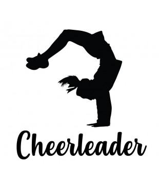 Samolepka nejen na auto - Cheerleader flik