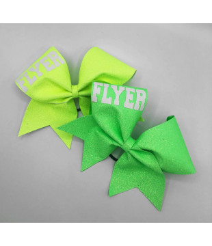 Glitter Cheer Bow FLYER / BASE / BACK SPOT mate print