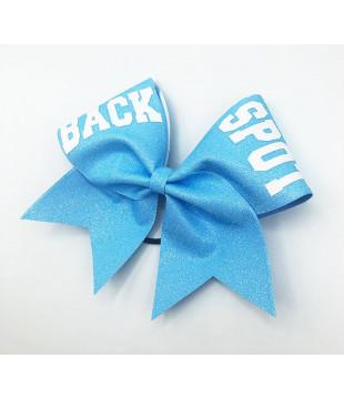 Glitter Cheer Bow FLYER / BASE / BACK SPOT mate print