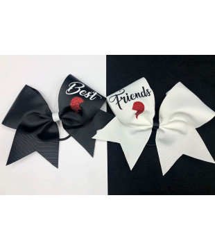 Best Friends Cheer Bows