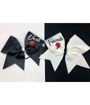 Best Friends Cheer Bows