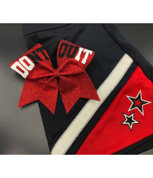 """Cheer bow """" Don't Quit"""""""