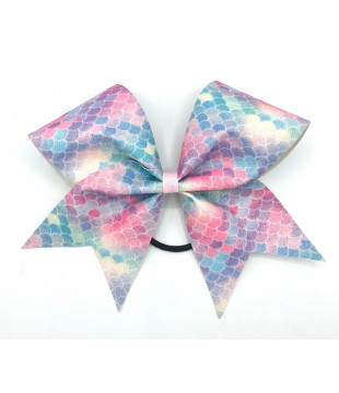 "Glitter Cheer Bow ""Don't Quit"""