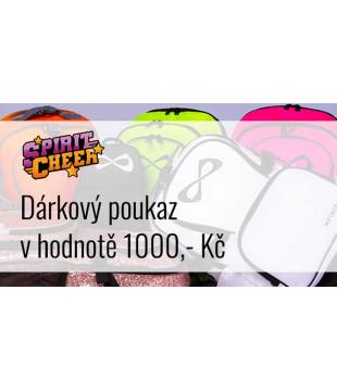 Gift certificate - 1000,- Kč