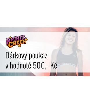 Gift certificate - 500,- Kč