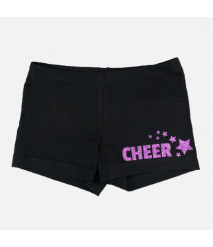 Shorts with sparkle Cheer and stars