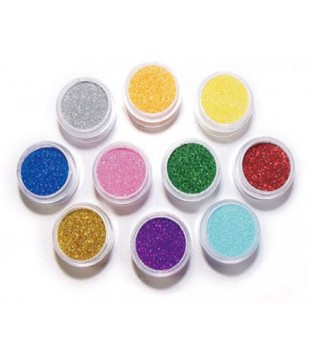 Loose Glitter in Different Colors