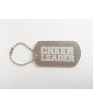 Aluminium pendant Cheerleader