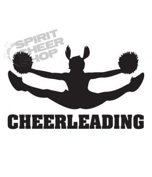 Samolepka nejen na auto - Cheerleading toetouch