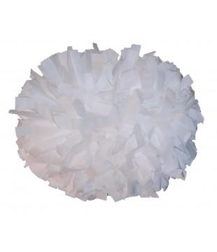 """Pompony Plastic bílé 6"""""""