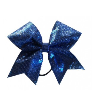 Medium cheer bow with sequins