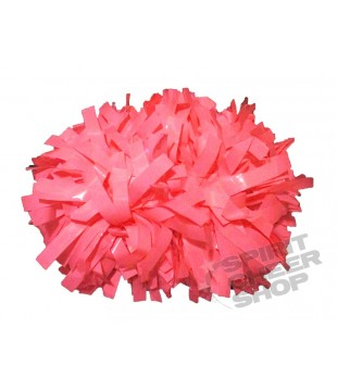 Pompoms - Wet Look - pink 6""