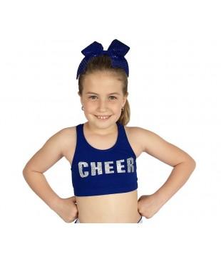 Dětský sportovní top - podprsenka CHEER