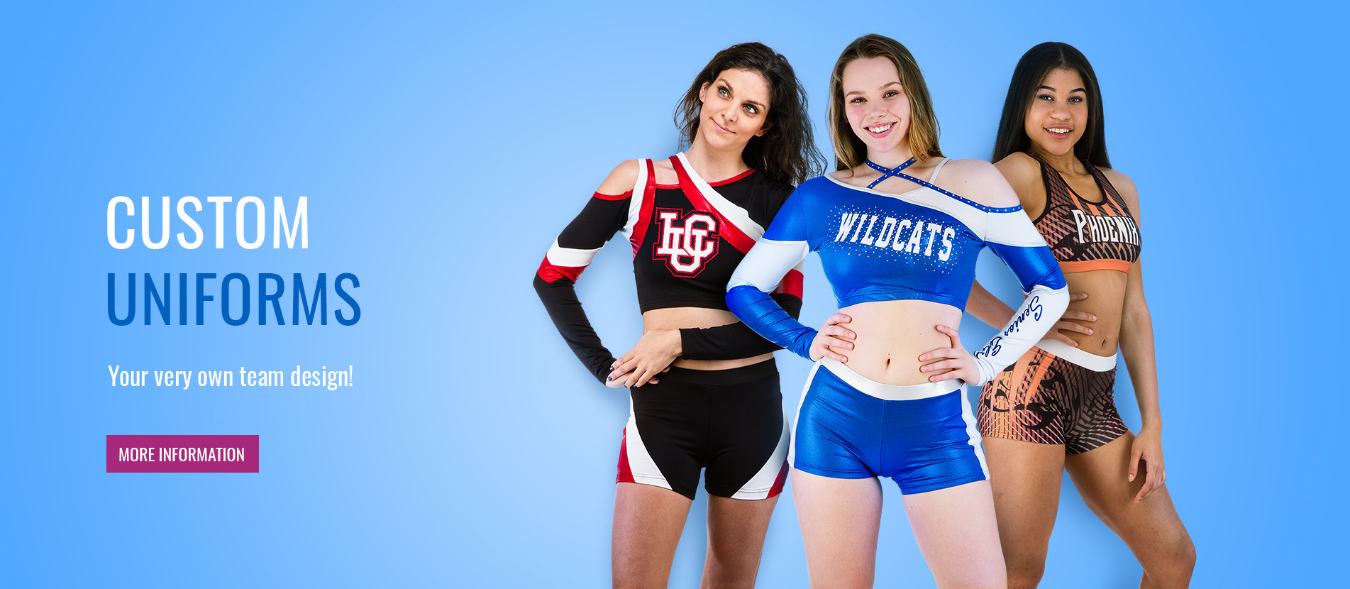 Great uniforms for your team in your specific design