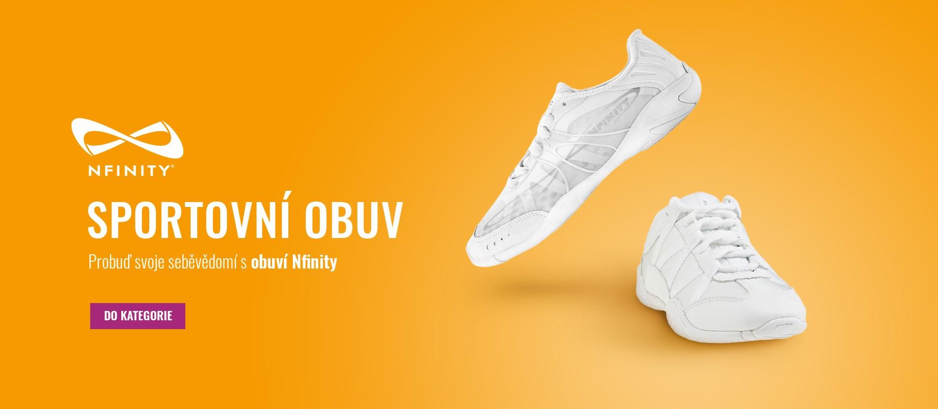 Probuď svoje sebevědomí s obuví Nfinity