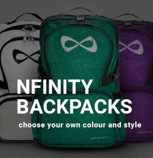 Wide range of Nfinity backpacks in stock!