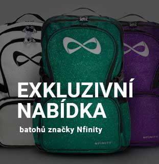 Exkluzivní nabídka batohů Nfinity